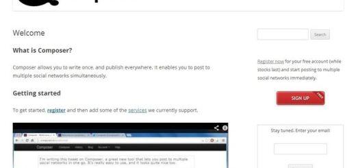 Composer, publica posts simultáneamente en múltiples redes sociales