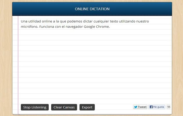 Dictation Dictation, usa tu voz para dictar emails y documentos en Chrome