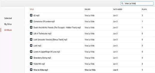 DriveTunes, reproduce en Chrome tu música de Google Drive