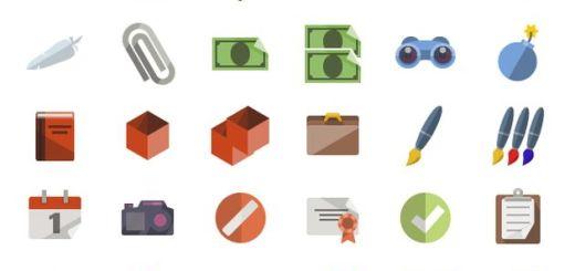 Flat icons, impresionante pack con más de 3600 iconos gratuitos