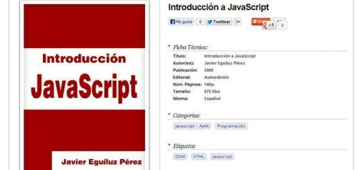 Introducción a JavaScript, ebook gratis para iniciarte en JavaScript
