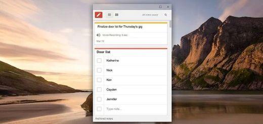 Google Keep ya dispone de app para el navegador Chrome