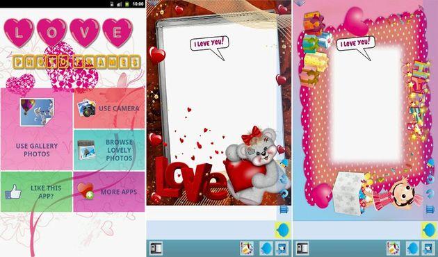 App Android Con Más De 100 Marcos Románticos Para Tus Fotos