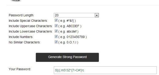 PasswordGenerator.ME, crea contraseñas seguras en un instante