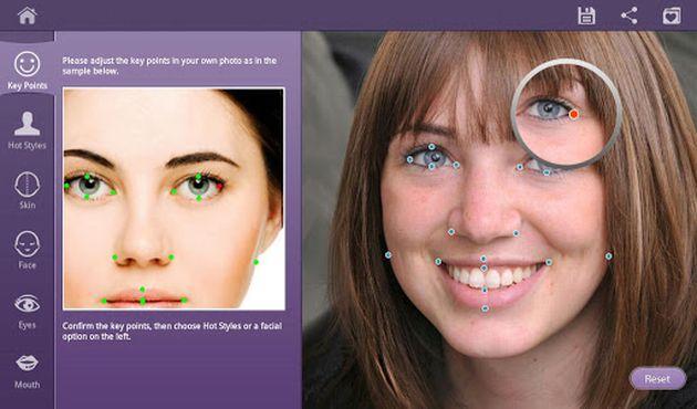 Retoca im genes gratis Retoque facial en 46