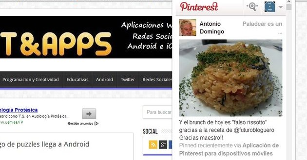 PinterestFeed, sigue tu feed de Pinterest con este plugin para Chrome