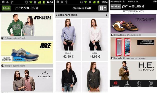 Privalia mobile tu club privado de compras para android e ios - Privalia mobile ...