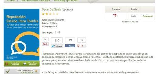 Reputación Online para Tod@s: ebook gratuito en PDF y en español