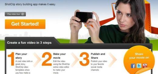 Shotclip, editor de vídeo online y gratuito muy fácil de utilizar