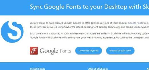 Ya es posible sincronizar Google Fonts con las fuentes de nuestro PC