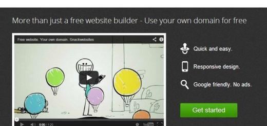 SnackWebsites, crear gratis tu sitio web sin tener que programar