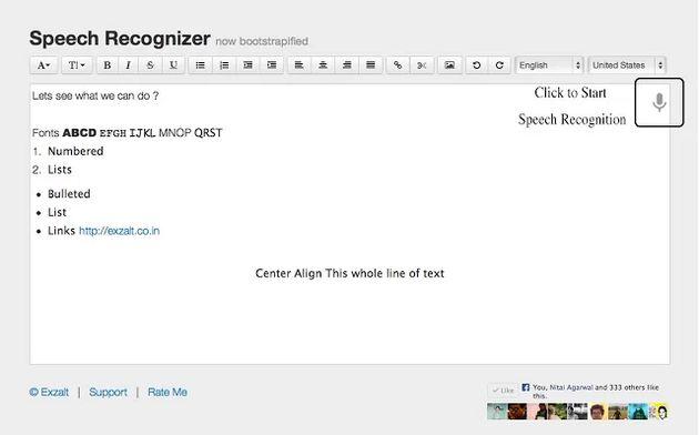 Speech Recognizer, convierte voz a texto con esta app para Chrome