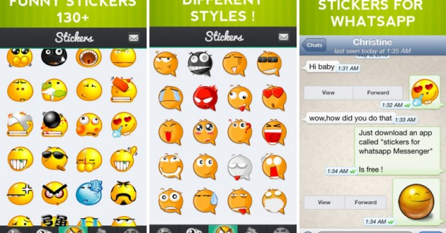 Sticker Emoticons for WhatsApp, divertidos stickers para WhatsApp