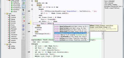 SynWrite, sustituto del bloc de notas y editor de código