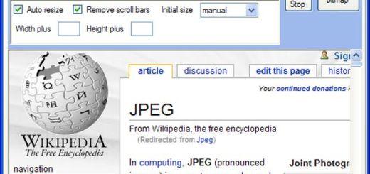 URL2JPEG, control total para tomar screenshots de sitios web