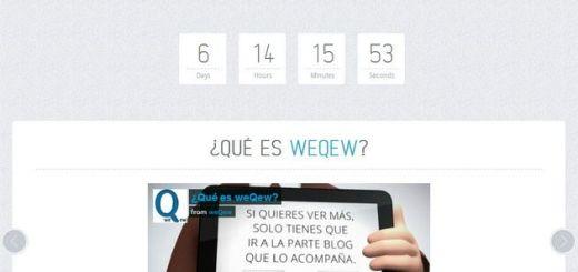 weQew, llega una nueva red para unificar blogging y microblogging