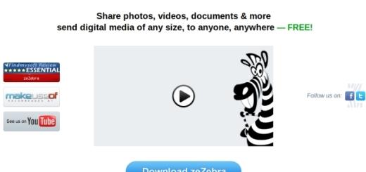 zeZebra, envía archivos sin ninguna limitación de tamaño