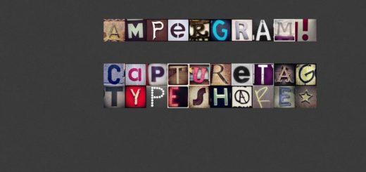 Ampergram: genera palabras y frases con fotografías de Instagram