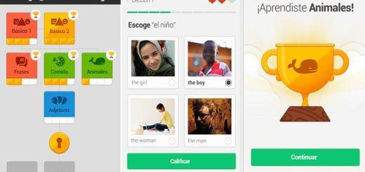 Llega la app de Duolingo para enseñarnos inglés en nuestro Android