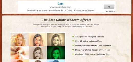 ComicWebCam, tómate una foto con la webcam y aplícale bonitos efectos