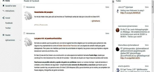 FlowReader, sustituto de Google Reader y cliente de Twitter y Facebook