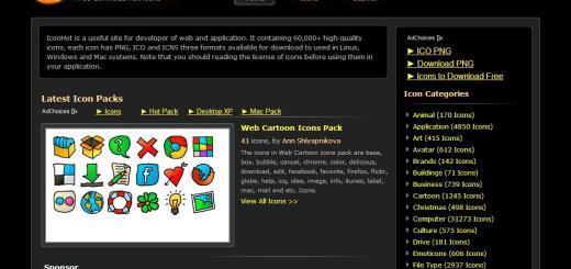 IconHot, más de 60000 iconos gratuitos para usar en tus proyectos