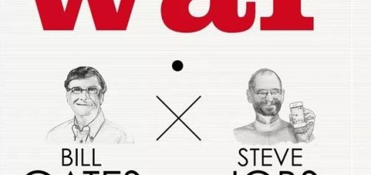 Infografia Gates vs Jobs