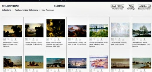 NGA Images, más de 25000 fotos de obras de arte de dominio público