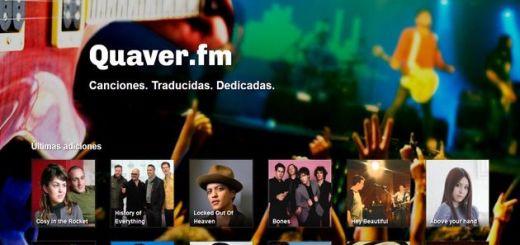 Quaver, servicio gratuito para dedicar canciones en Facebook y Twitter
