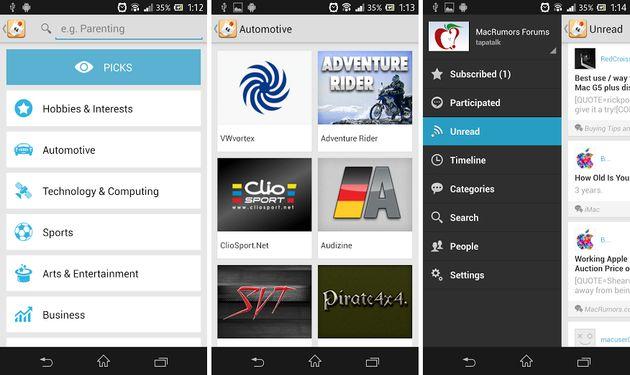 Tapatalk ahora también es gratuita para los dispositivos Android