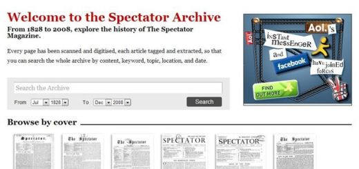 180 años de historia en hemeroteca online del diario británico The Spectator
