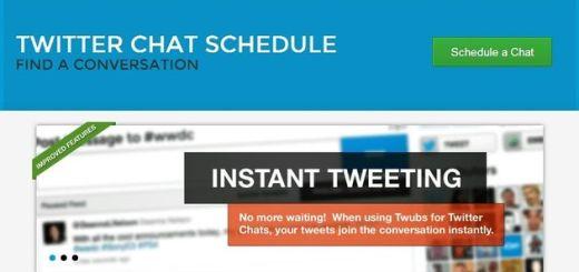 Twubs, crea salas de chat para grupos de usuarios de Twitter