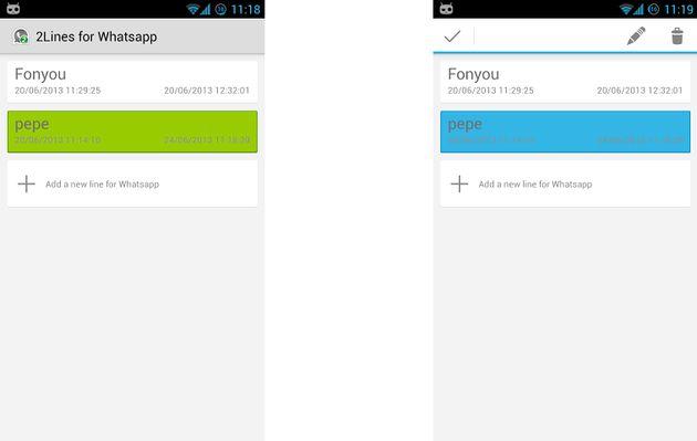 2Lines for WhatsApp, usa varias cuentas de WhatsApp en tu Android