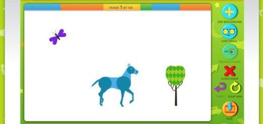 ABCya, utilidad web gratuita para que los niños creen animaciones gif