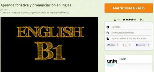 Un curso gratuito para que mejores tu acento y pronunciación en inglés