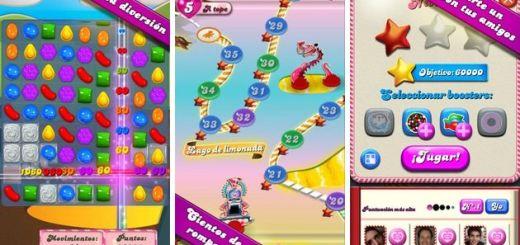 Candy Crush Saga, uno de los juegos móviles más adictivos del momento