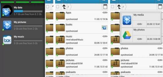 CloudCube, gestión de todos tus servicios de almacenamiento en Android