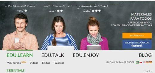 Edustation, aprende varios idiomas de forma amena y gratuita