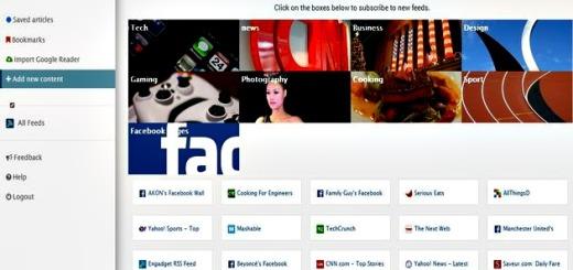 EldonReader, otro lector de feeds online con gran potencial