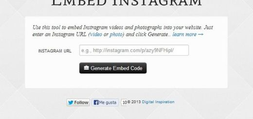Embed Instagram, obtén el código para insertar las fotos y vídeos de Instagram