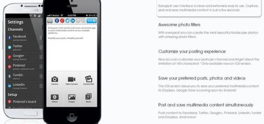 Everypost, app móvil para enviar contenidos a todas tus redes sociales