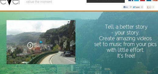Evver, la forma más simple de crear un vídeo con tus fotografías