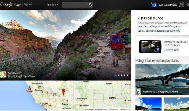 Google Maps Views Google Maps Views, los lugares más bellos del mundo en panorámicas de 360 grados