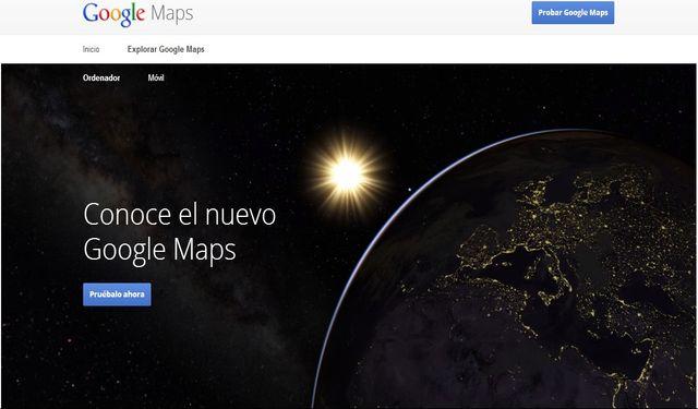 La beta del nuevo Google Maps ya está disponible para todo el mundo