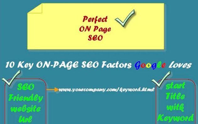 Infografia SEO on-page
