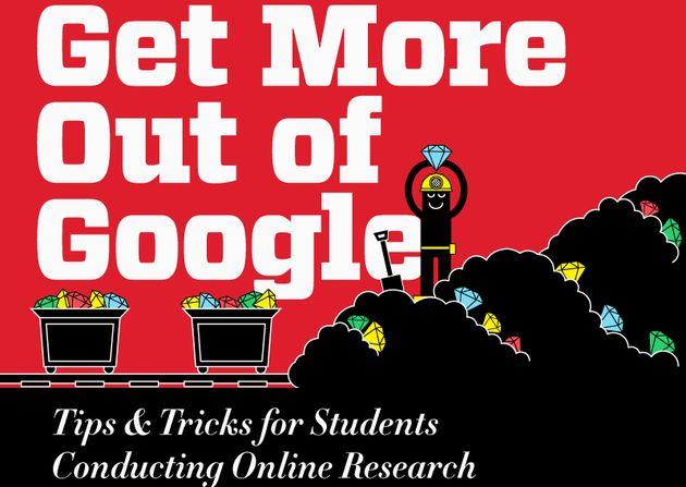 Una infografía con pequeños trucos para buscar mejor en Google