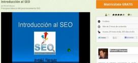 Introducción al SEO, curso gratis y en español sobre posicionamiento