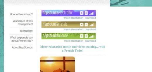 Nap Sounds, música para reponer energías con una siesta de 20 minutos