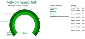 Network Speed Test: analiza tu velocidad de conexión en Windows 8