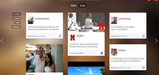 OneFeed, tus redes sociales y feeds favoritos en una app para Chrome